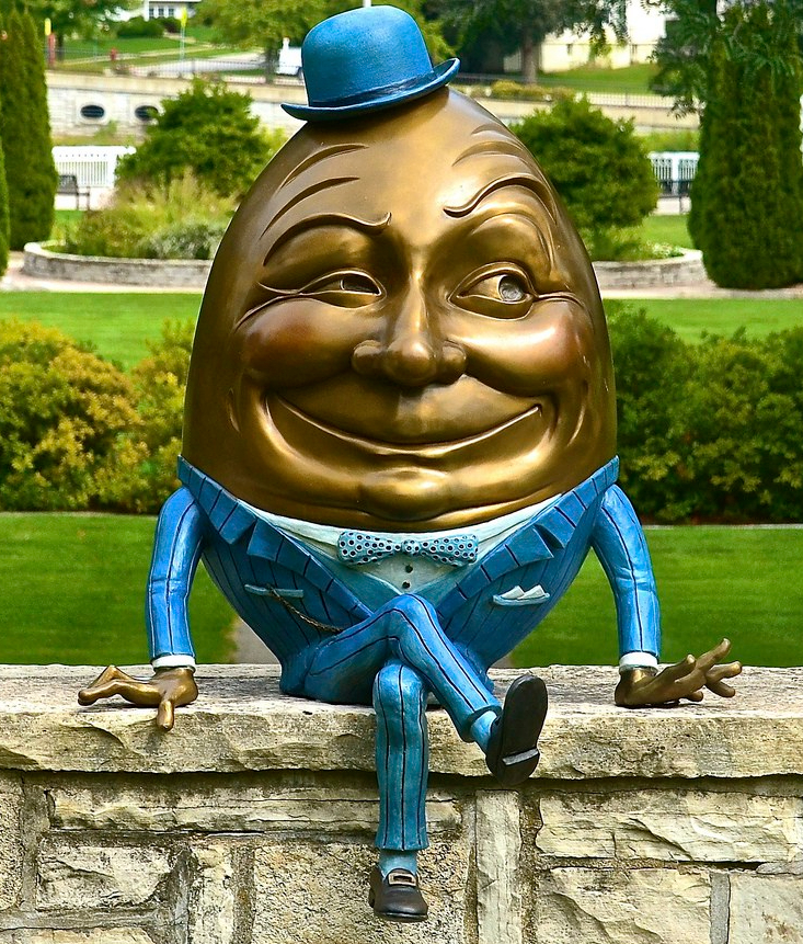 humpty dumpty Mt St Mary Park
